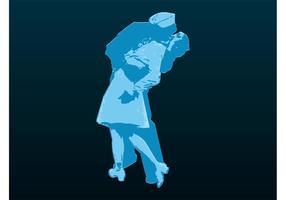 Embrassez l'image de couple