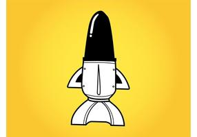 Cartoon Space Shuttle