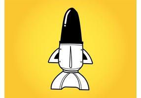 Cartoon Space Shuttle