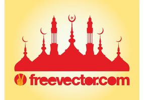 Mosque-silhouette-vector