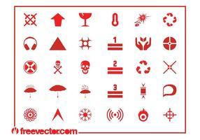 Farosymboler och ikoner