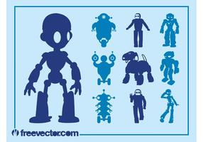 Robots Graphics Set