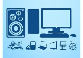 Conjunto de dispositivos de alta tecnología