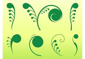 Plant Swirls Graphics
