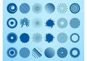 Abstract Circle Set