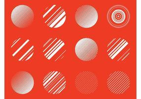 Abstract Circles Vectors
