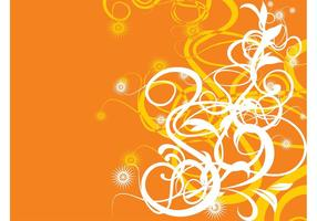 Orange Background Design