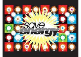 Save Energy Background
