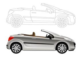 Convertible Car Graphics