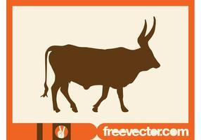 Gráficos de silhueta de touro