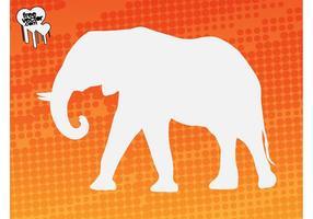 Elephant silueta gráficos