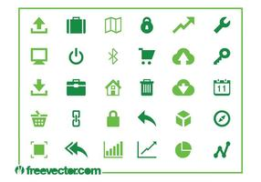 Web-und Technologie-Icons