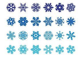 Paquete de copos de nieve