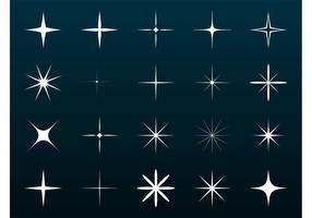 Vector Sparkles Set
