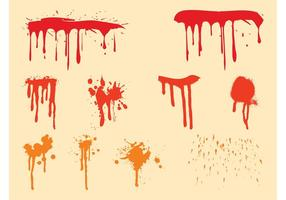 Paint Drips Set