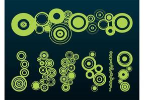 Kreise Grafiken gesetzt