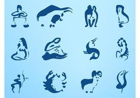 Conjunto de signos del zodiaco