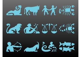 Zodiac Sign Set