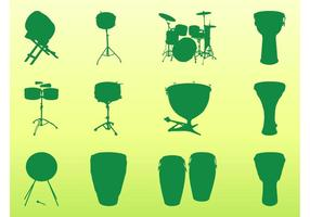 Percussion Instruments Graphics