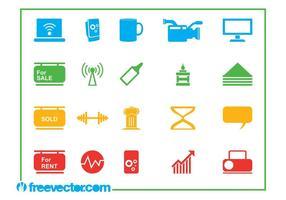 Icons Vector Graphics Set