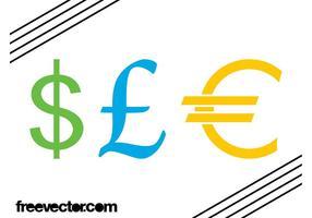 Currency Symbols Graphics