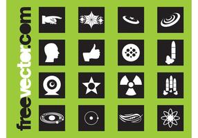 Science Icons Grafiken
