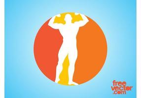 Bodybuilder Icon Graphics