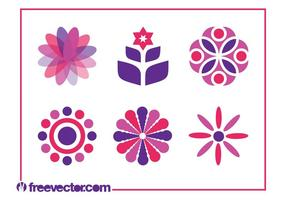 Blumen Icon Set