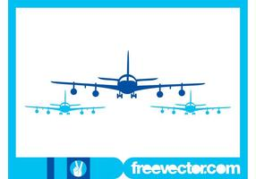 Flygplan Silhouettes Graphics