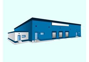 Blue Building Graphics