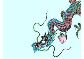 Asian Dragon Graphics