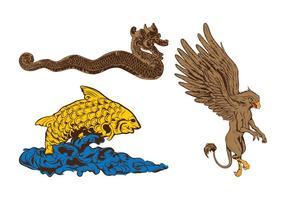 Mythologische Tiere Grafiken