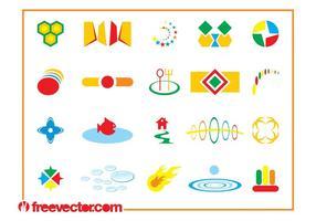 Colorful Icon Designs