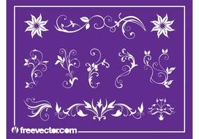 Floral Swirls Set