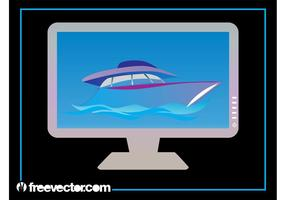 Yacht-on-computer-monitor