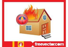 Burning House Graphics