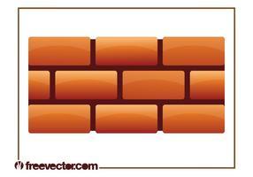 Graphique de mur de brique