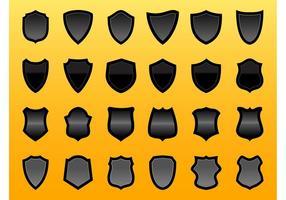 Shield Vector Graphics Set