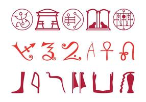 Egyptian Symbol Set