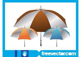 Umbrellas Layout