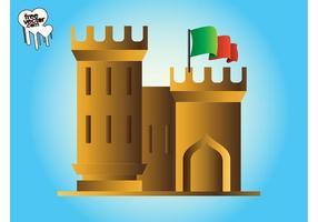 Castelo Com Bandeira