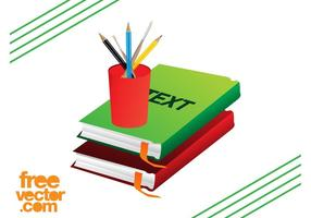 Schulbedarf und Bücher