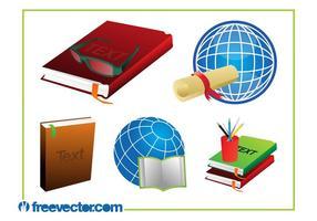 Utbildning Grafik Set