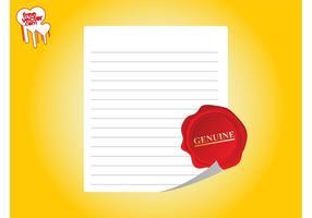 Gráficos de plantilla de certificado