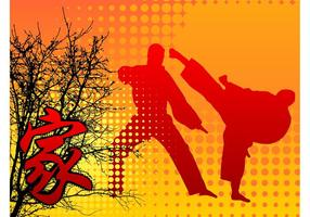 Fundo de artes marciais