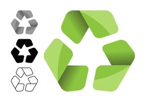 Recycling Symbole Set