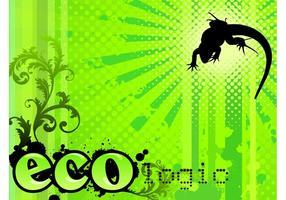 Ökologie Hintergrund Design