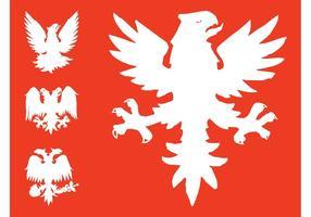 Heraldische Eagles Grafiken