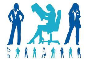 Businesswomen Graphics Set