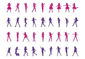 Dancing-girls-silhouettes-set